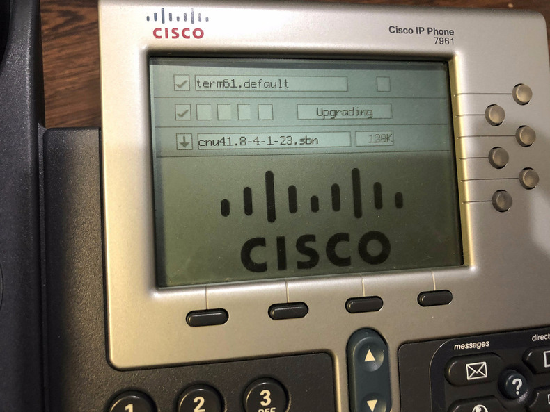 PLAYING WITH OLD CISCO® IP PHONES